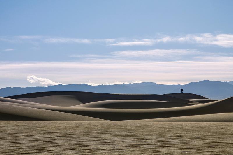Photographer At Mesquite Dunes