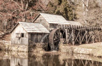 Maybry Mill in Fall Season